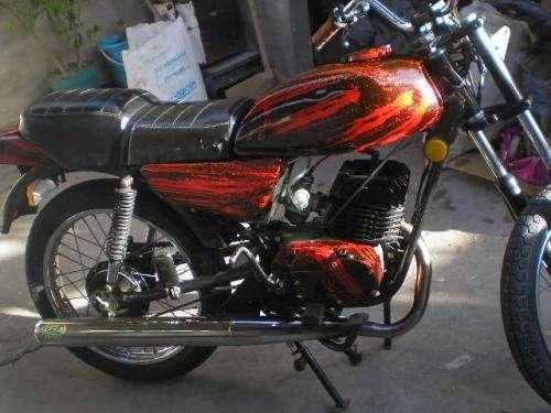 Moto zanella 125 sapucai mod 90