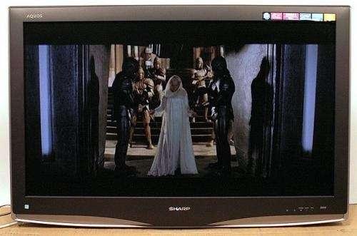 "Sharp lc-c3742u 37"" aquos lcd flat panel television nr"