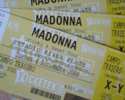 """Madonna 04/12 campo """"el mejor precio"""""""