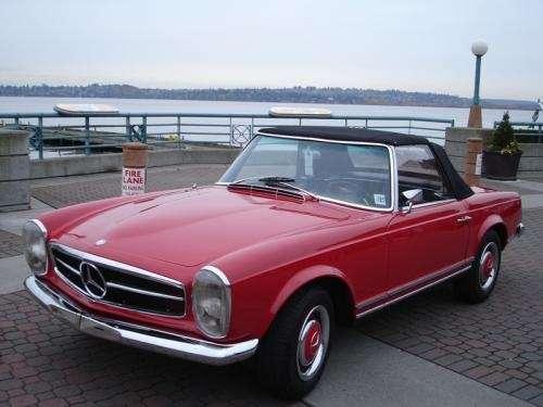 Mercedes benz 230sl pagoda