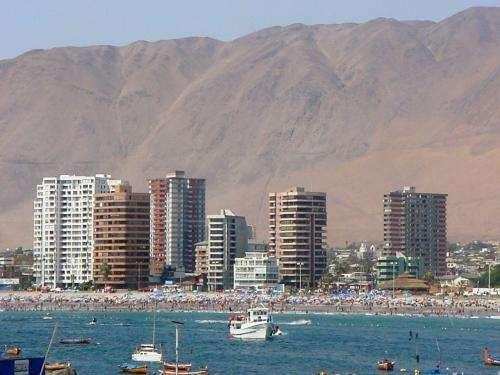 En iquique alquiler de departamentos temporarios frente al mar playa cavancha 57-418379