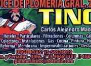 CAP FED   GASISTA 45842887 24 HS CALEFON PLOMERO TERMOTANQUE URGENCIAS PALERMO FLORES