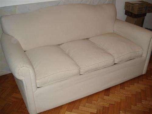 Sillón sofá cama - 3 cuerpos con colchon