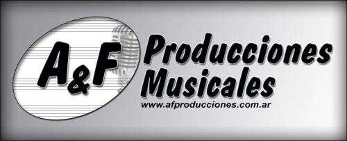 Pistas musicales. a& producciones musicales