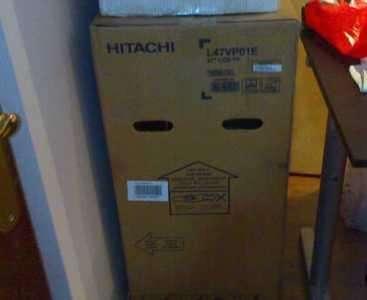Hitachi l47vp01e 47 new