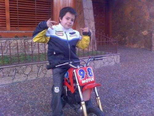 Moto cross mini