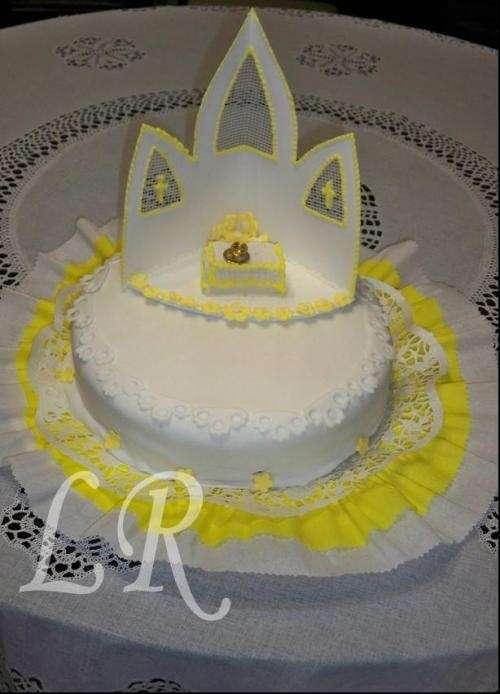 tortas de comunion redondas
