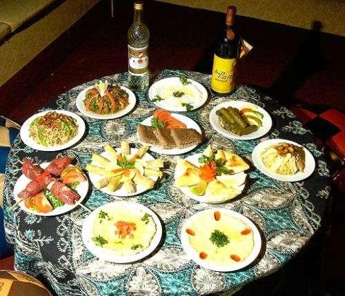 Comida árabe: shawarma y otras...