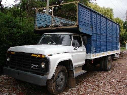 Vendo camion ford f-6000 urgente !!