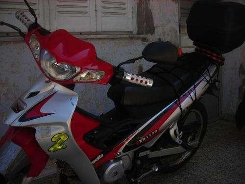 Vendo urgente zanella sexy 110 cc mod 2007 $ 3.300 633*3190