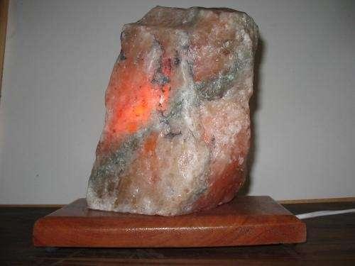Lámparas de sal (ionizador natural)