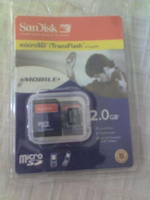 Vendo memorias para celulares y camaras digitales