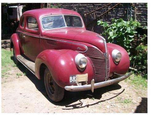Coupe ford mod.39 unica!