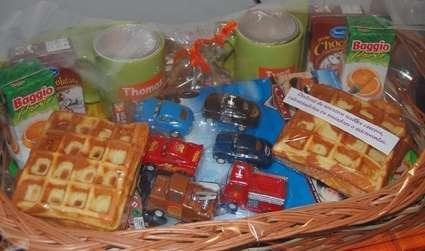 Desayuno infantil a domicilio -c/ waffles para chicas y chicos regalos z. norte