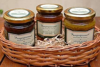 Regalos empresariales productos gourmet -salsas para postres zona norte