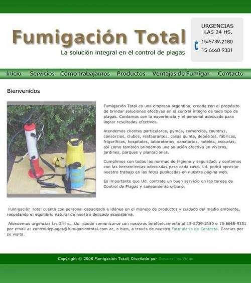Empresa de fumigación | control de plagas | desinfecciones