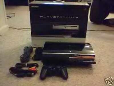 Sony playstation 3 la consola de juegos -negro