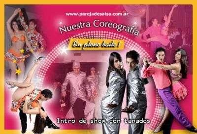 Show de salsa, exito total 2009 record de contrataciones! majo y dani, shows de salsa, pareja de salsa