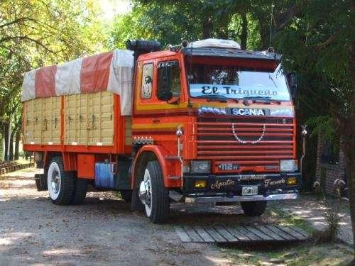 Vendo camion scania 112 en exelente estado