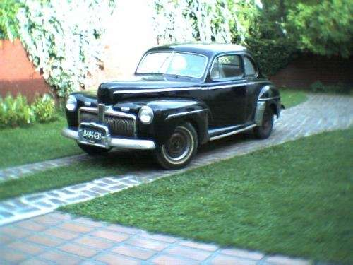 Vendo ford coupe mod.42
