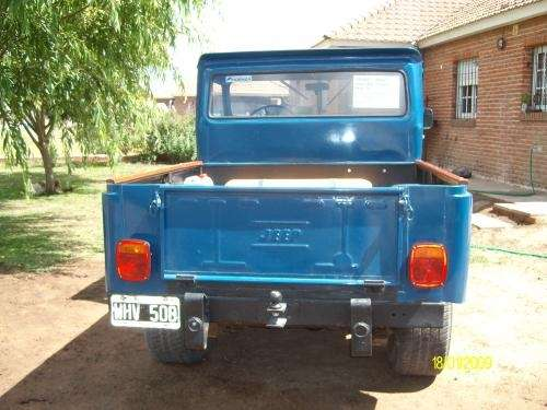 Jeep ika 4x4 original modelo 70 exelente!