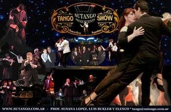 Show de tango y melodicos