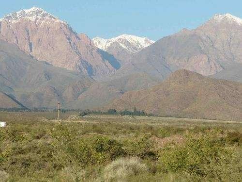 Finca campo 34 hectáreas cordillera mendoza argentina