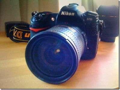 Nikon d700 digital slr body+4gb 120x cf+extra battery