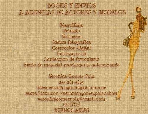 Te hacemos el book y lo enviamos a todas las agencias de actores y modelos