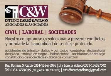 Estudio juridico civil laboral sociedades cordoba