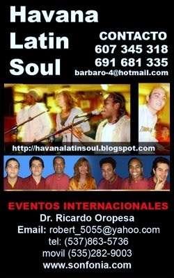 Havana latin soul(se ofrece)