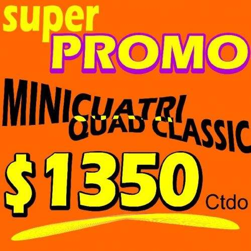 Minicuatri 49cc super oferta!! $1350