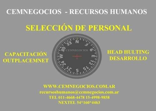 Seleccion de personal recursos humanos