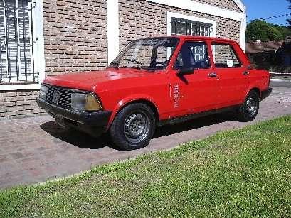 Fiat 128 super europa 89 pmto x moto