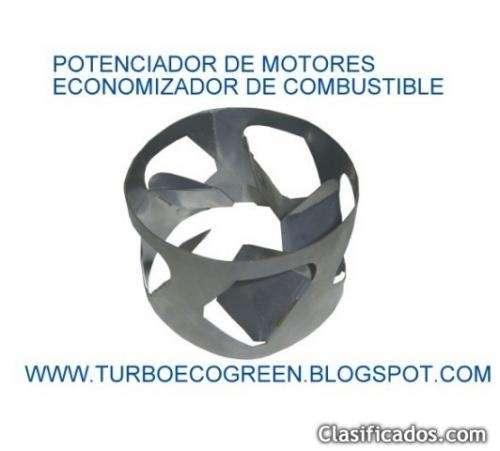 Economizador de combustibles turbo ecogreen potenciador