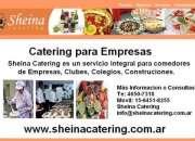 Servicio comedor para Empresas Zona Oeste Te:4650-7318