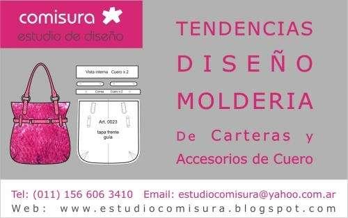 9bbe7888a Moldes de carteras en Buenos Aires - Otros Servicios | 55768.