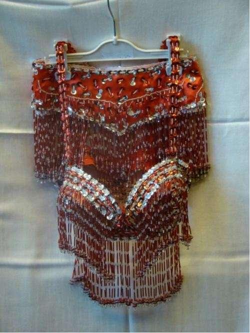 Trajes bordados para danza árabe