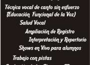 Clases de Canto Rock -Hard Rock -Metal