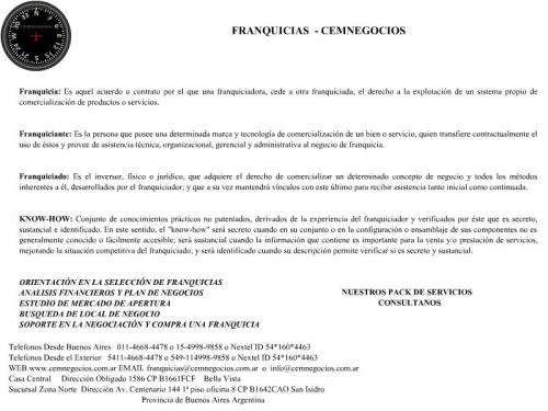 Franquicias - consultoria - desarrollo - rrhh - cemnegocios