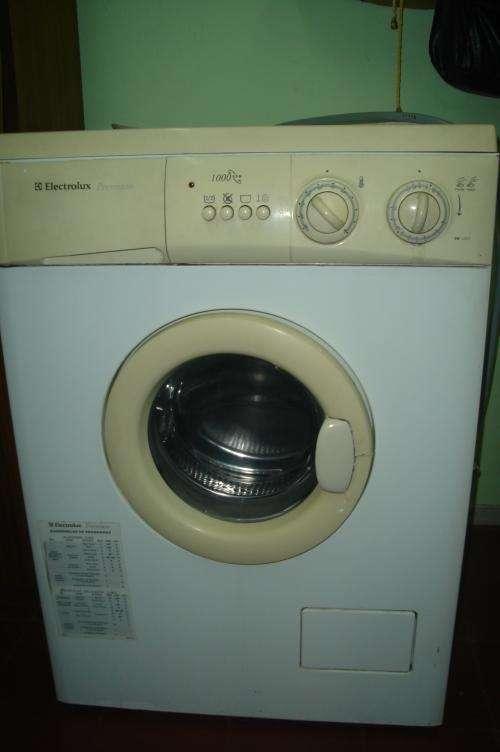 Vendo lavarropas automatico electrolux premium