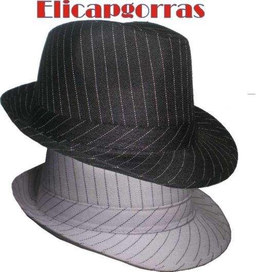 Sombrero tanguero o gardelito lisos y escoses