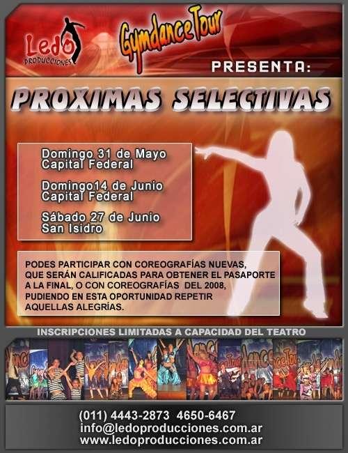 Selectivas!!! torneo nacional de danzas