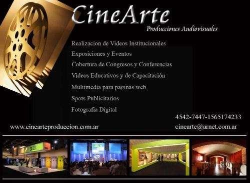 Filmación y producción de video clips, eventos, institucionales