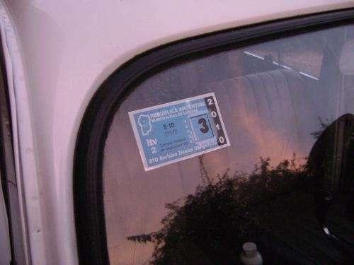 Renault 4 Gtl 85  Itv 2009  En C U00f3rdoba