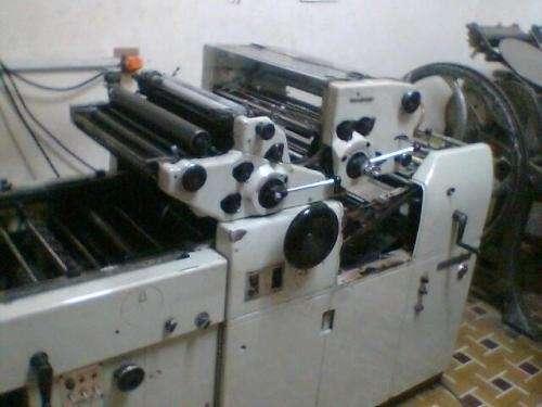Vendo maquinas para imprenta: hamada, fuji, minerva
