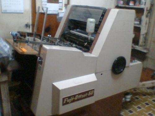 Fotos de Vendo maquinas para imprenta: hamada, fuji, minerva 2