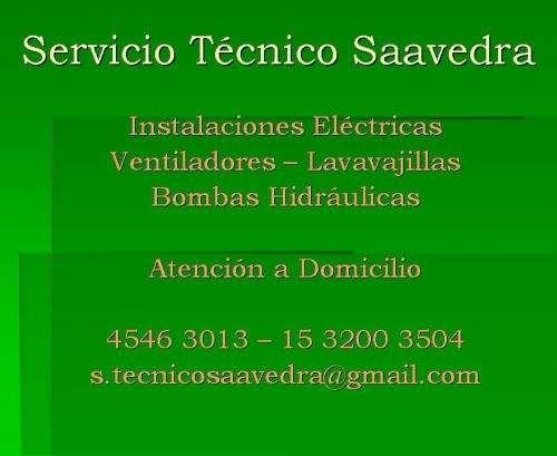 Servicio técnico de instalaciones eléctricas. reparaciones varias