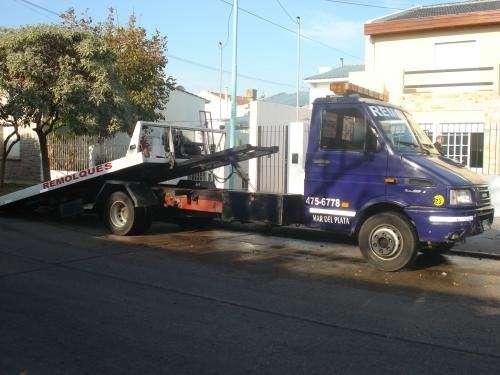 Remolques y gruas automotor ram 24 con camillas hidraulicas