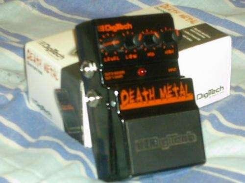Vendo pedal de guitarra death metal digitech